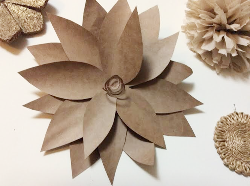 How To Make Flowers Out Of Brown Paper Bags Flowers Healthy