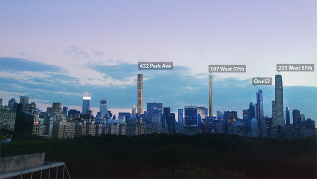 Four of America's Tallest Buildings Are Being Built on the Same Street