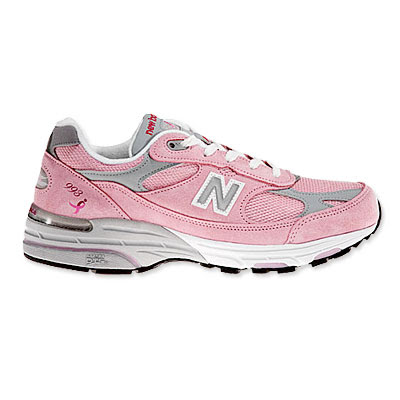 4a9e8751ac599 Balnce on New Balance Personalized Running Shoes Breast Cancer Awareness  Gifts