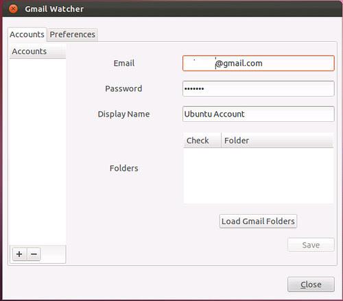 gmail notification Ubuntu