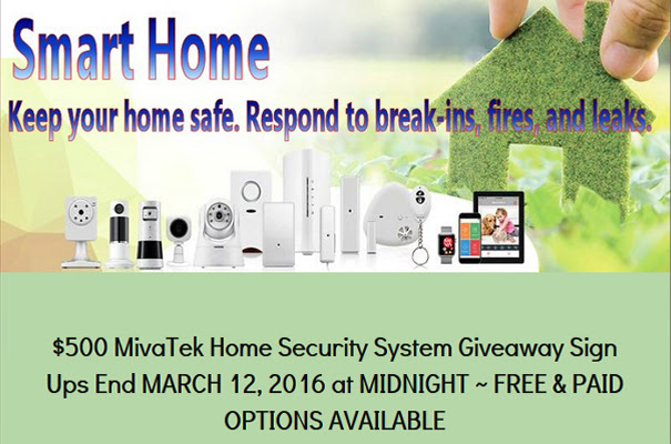 $500 MivaTek Home Security System Blogger Opp