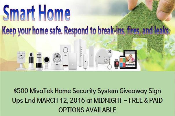 $500 MivaTek Home Security System Blogger Opp