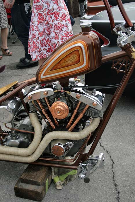 Carshow shiny details motorcycle 191