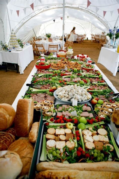 14 Creative Wedding Buffets to Save Your Budget   Brit   Co