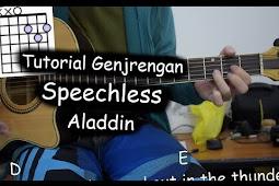 Kunci Lagu Speechless by Naomi Scott (Aladdin)