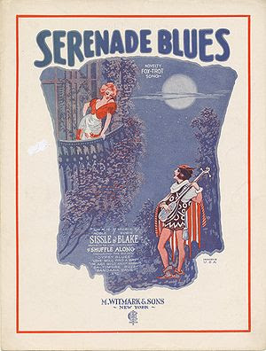"""Serenade Blues"" (sheet music) page ..."