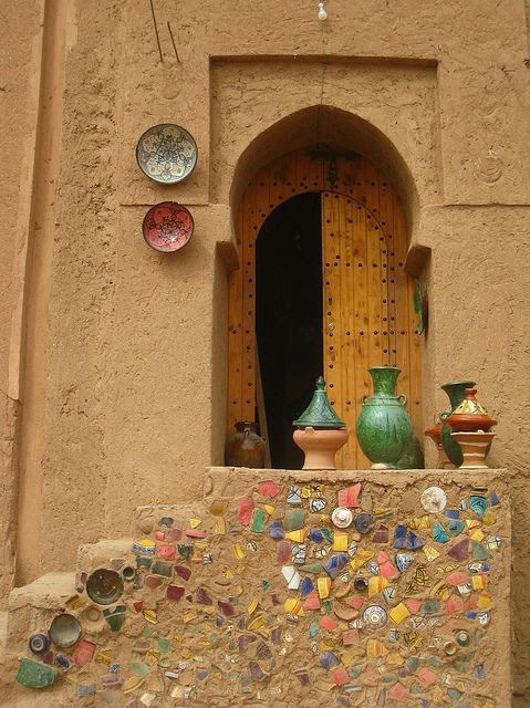Africa   Pottery in Tamegroute, Southern Morocco   © Kristel Van Loock