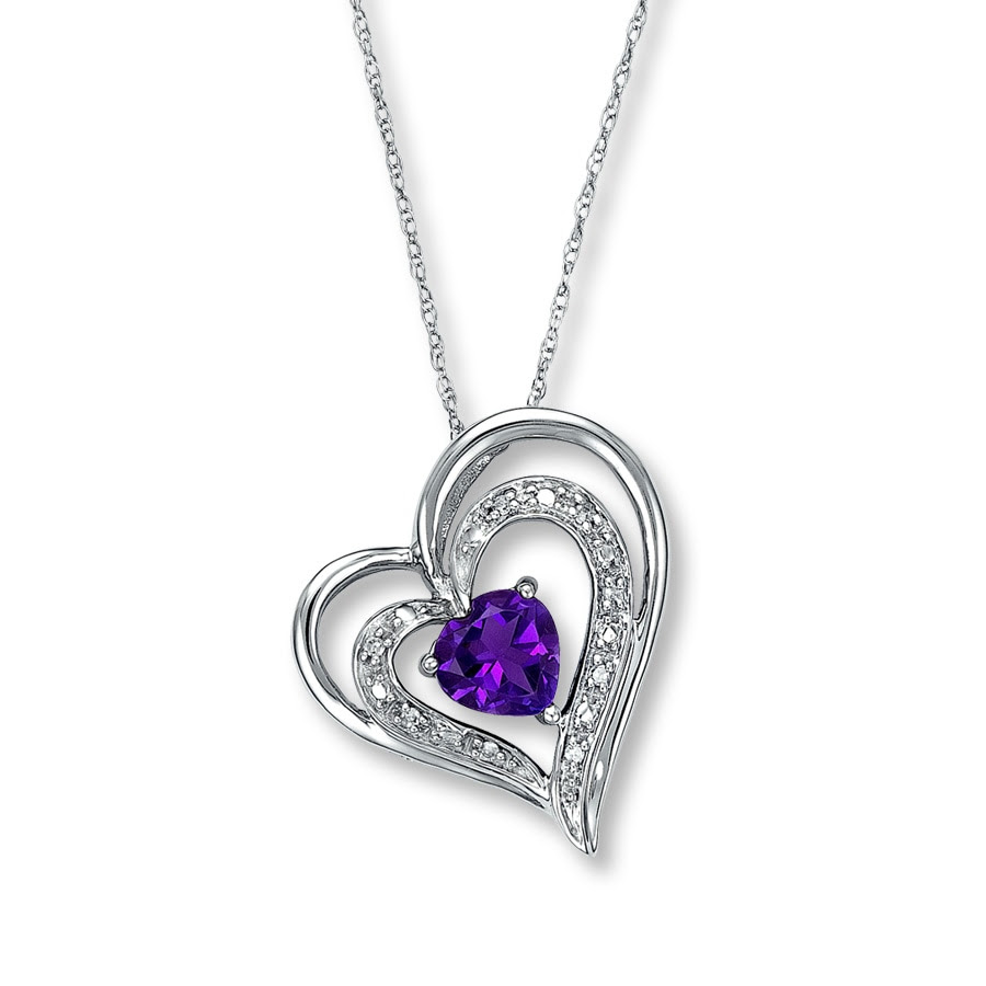 White Gold Necklace Kay Jewelers Heart Beat Necklace