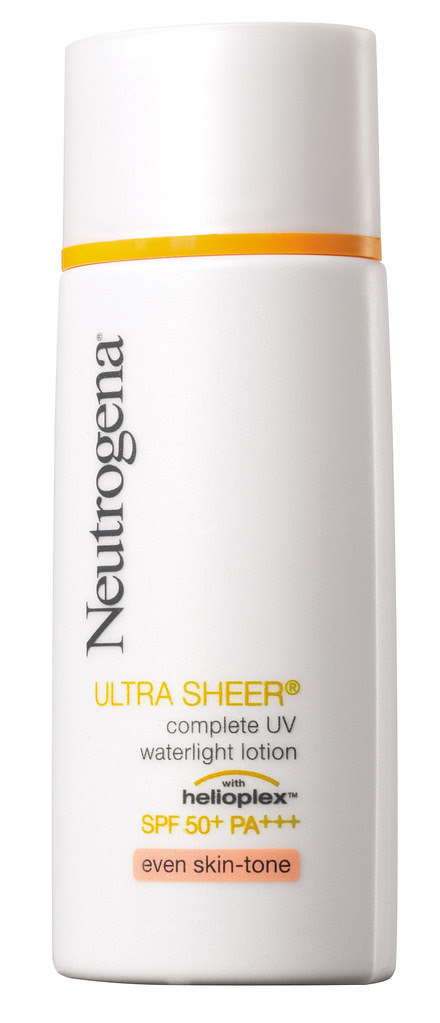 neutrogena helioplex sunscreen 防曬