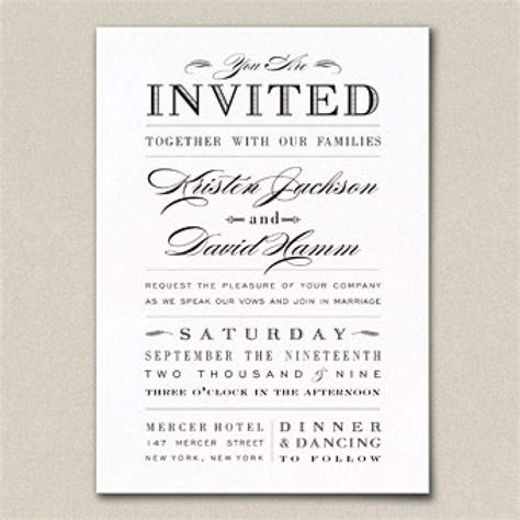 Wedding Invitation Verbiage