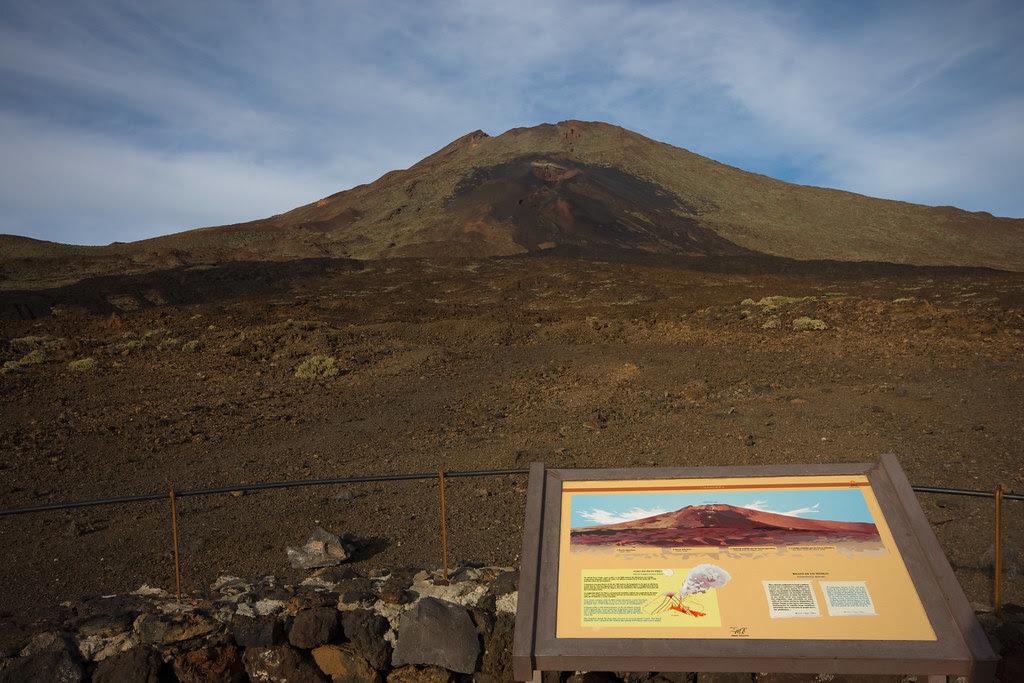 Volcán Pico Viejo.Tenerife