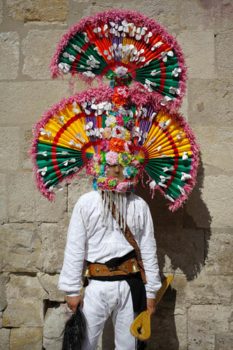 Guirrio del carnaval de Llamas de la Ribera, (León)