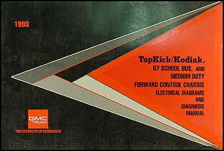 1993 Medium Duty Wiring Diagram Manual Factory Reprint ...