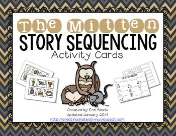 The Mitten Sequence Cards