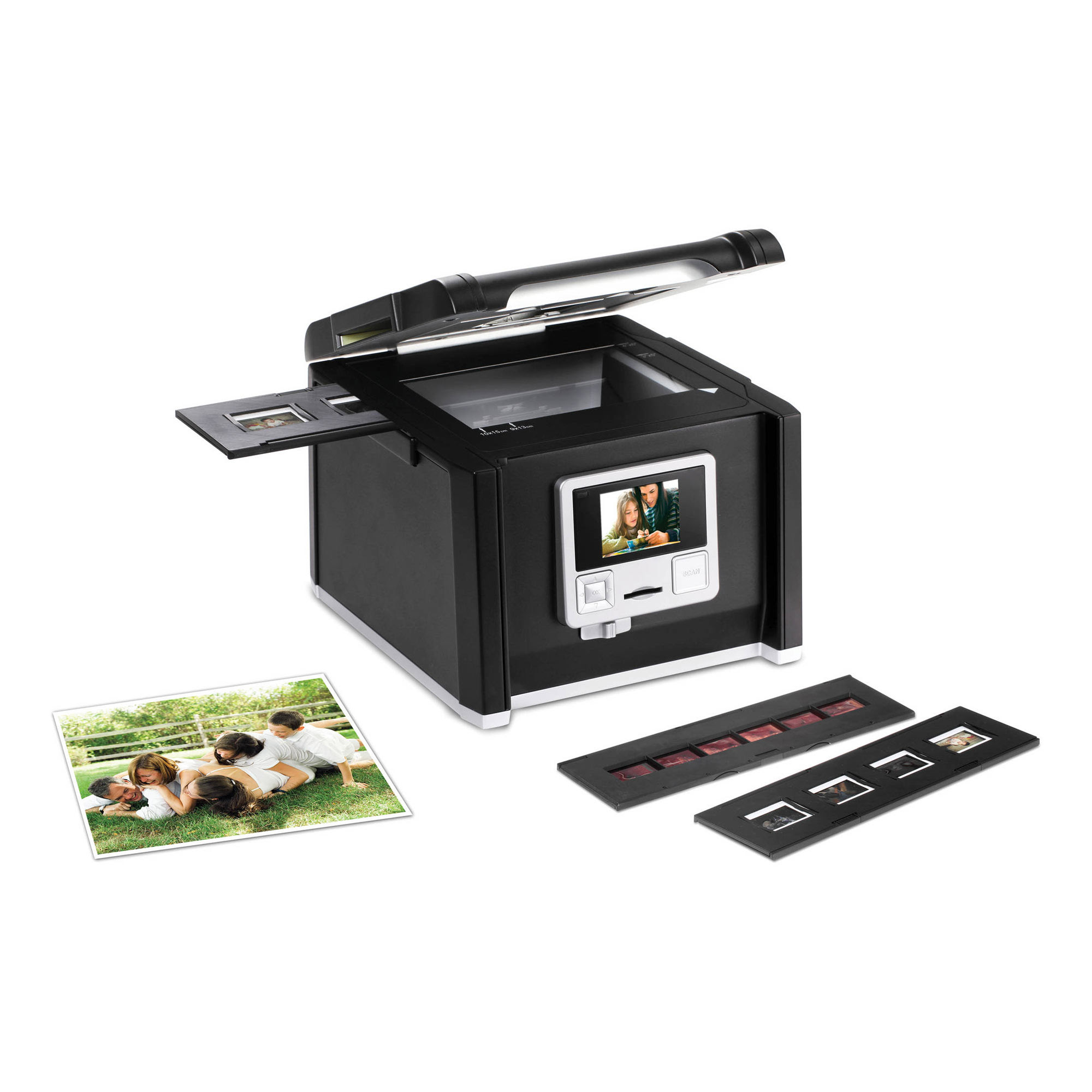 Pacific Image Imagebox Mf 4 In 1 Slide Film Photo Converter Mf