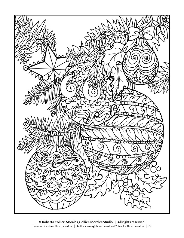 Free 92 Page Holiday Coloring Book! - ArtLicensingShow.com ...
