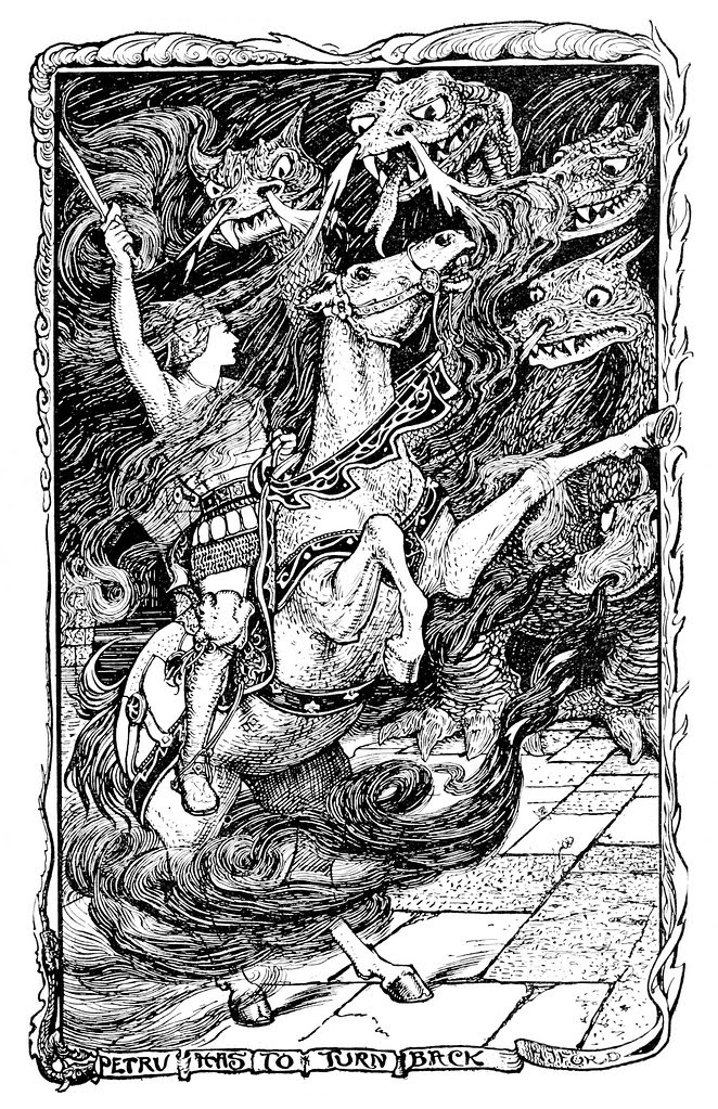 Henry Justice Ford - The violet fairy book, edited by Andrew Lang, 1906 (illustration 9)