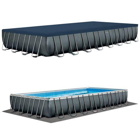 intex swimming pool xx cm frame pool set ultra