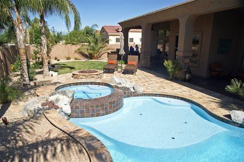Backyard Pool Landscape Ideas Arizona