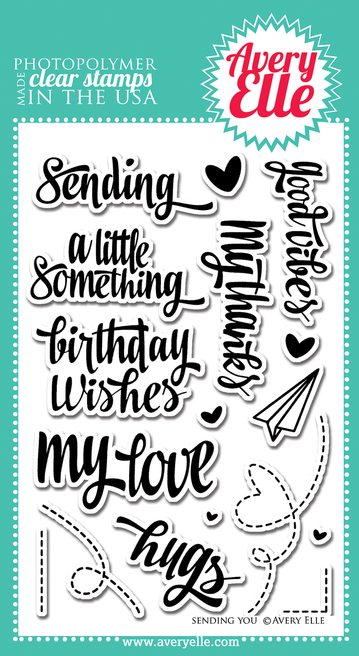 Avery Elle Sending You Clear Stamps