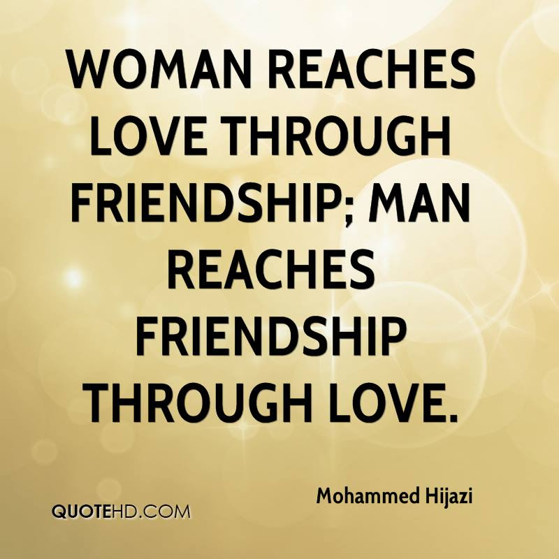 Quotes About Man Woman Friendship 28 Quotes
