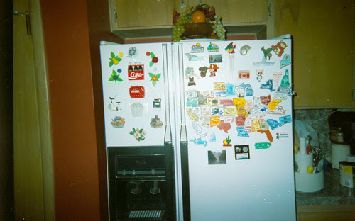 Where refrigerator magnets go to die.