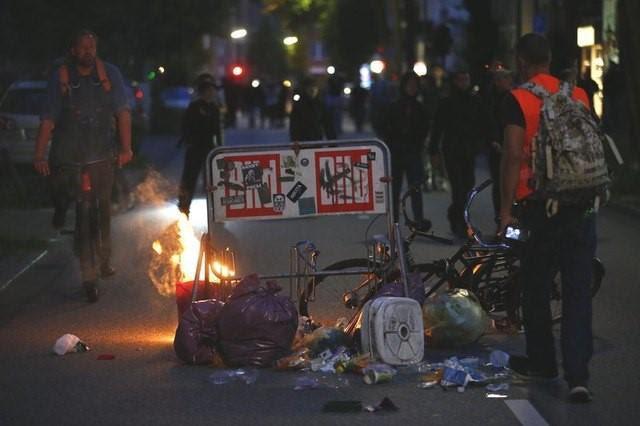 tin thế giới, sự kiện nóng, Đức, biểu tình, Angela Merkel, Donald Trump