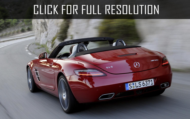 Mercedes Benz Sls Amg Roadster - amazing photo gallery ...