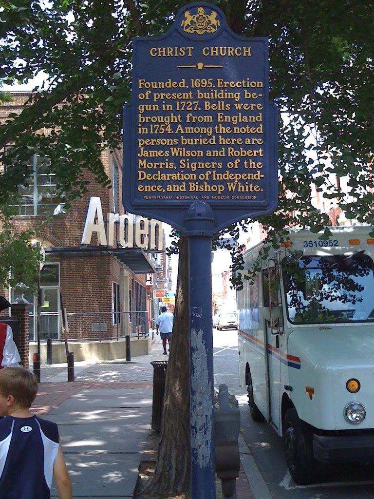Pennsylvania Historical Marker - Christ Church
