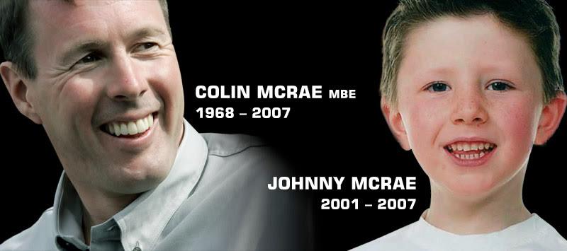 Colin Mcrae MBE 1968 - 2007