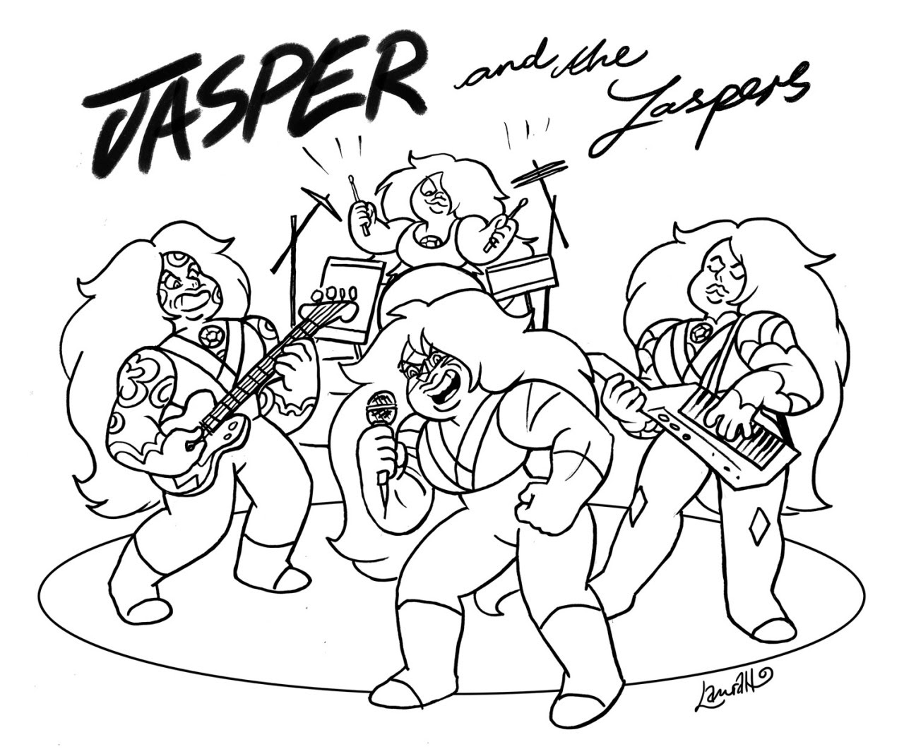 I think we all know the real reason Jasper's gathering gems like her - she's trying to get the band back together Jasper and the Jaspers Come on now don't be shy I learned to stay true to myself By...