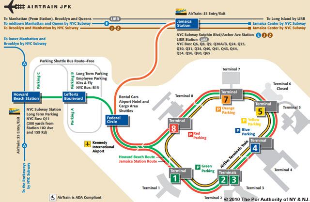 aeroporto de miami mapa interno