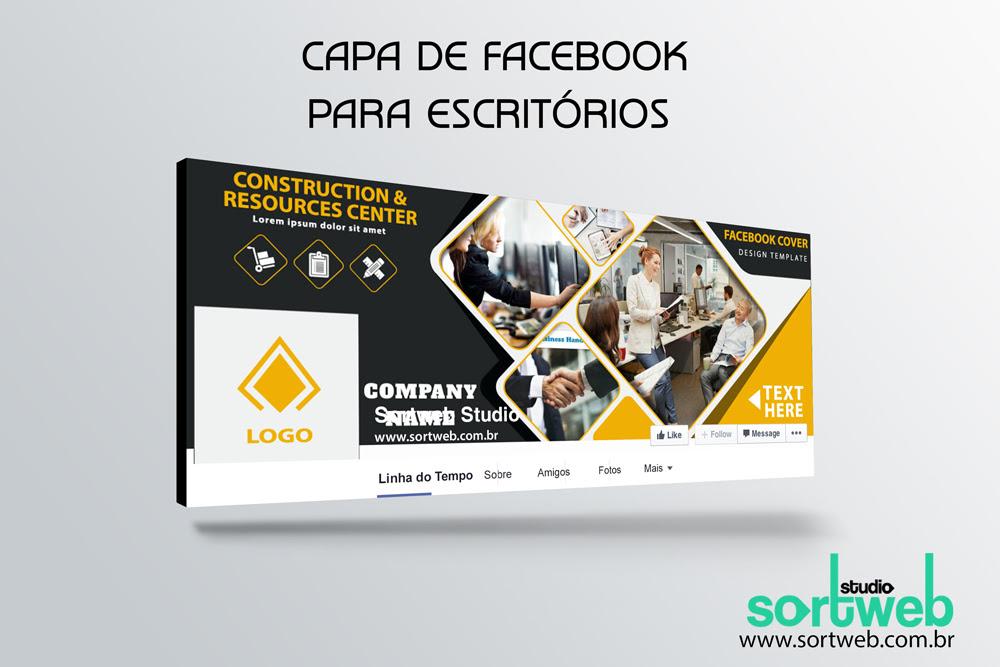 Capa de Facebook para escritórios