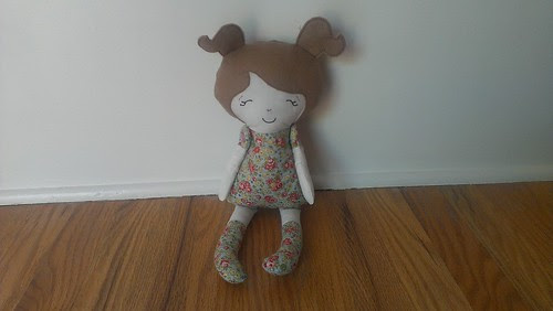 ITH dolly handmade with love by katie
