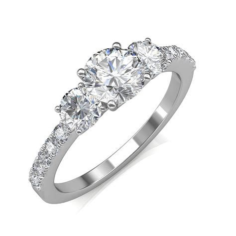 1.05 carat Platinum   Eternal Love Engagement Ring