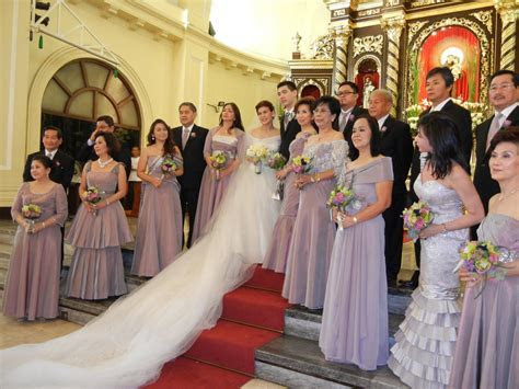 filipino church wedding party pictures   Google Search