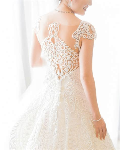 Lovely Wedding Gown Back Designs   Philippines Wedding Blog