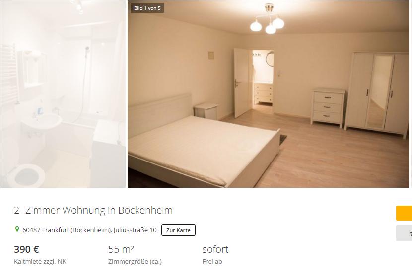 danielaseiler75 2 zimmer wohnung in bockenheim 60487. Black Bedroom Furniture Sets. Home Design Ideas