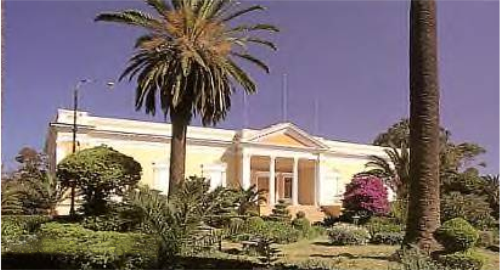 "The ""President's Office"" in Asmara, built in 1897"