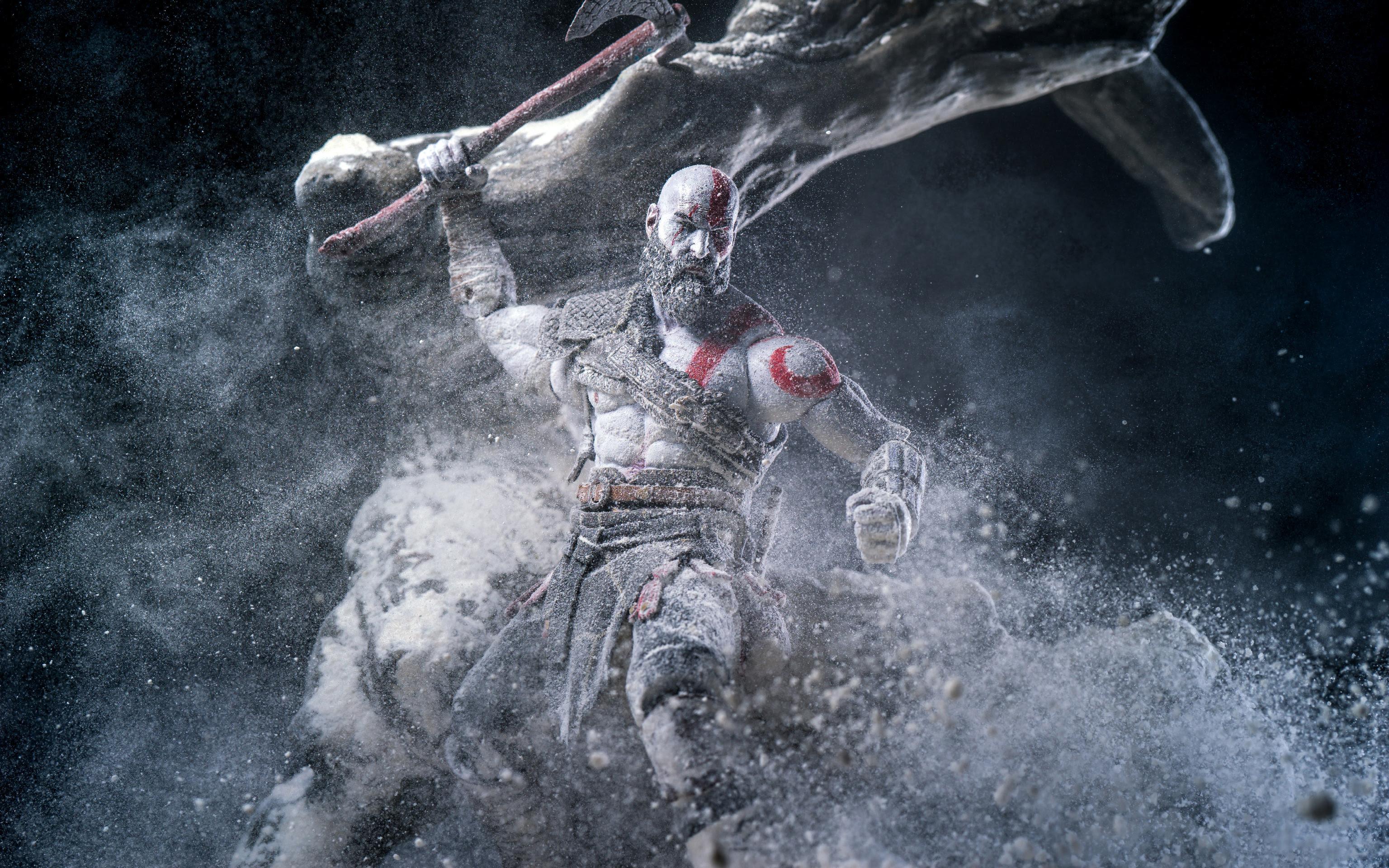 Kratos In God Of War 2018 Wallpapers Hd Wallpapers
