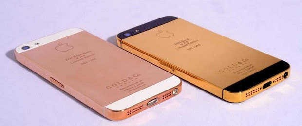 Gold & Co iphone 5 1