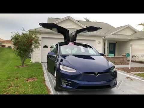 Tesla Model X 2018 Dancing Youtube