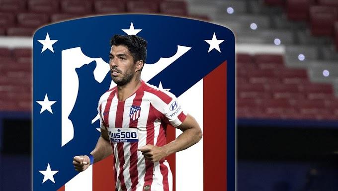 Fútbol: Fotos de Luis Suárez como jugador del Atlético de Madrid