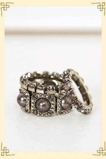 Francesca's Collections Stacked Ring
