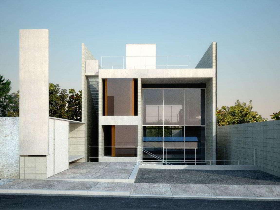 Model Rumah Hook 2 Lantai - sigiarchitect.com