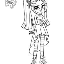 Coloring And Drawing My Little Pony Equestria Girl Coloring Pages To Print