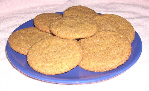 Ginger Molasses Crinkle Cookies A