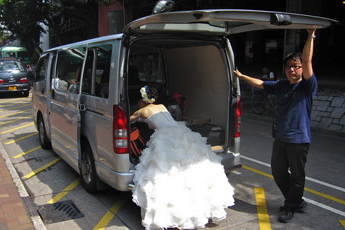 Bridal Photo Shoot, Tai Po, Hong Kong