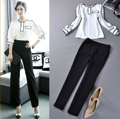 Ladies evening wear trouser suits