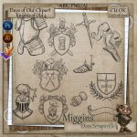 CU Hand Drawn Knights of Old Brush Pack 3
